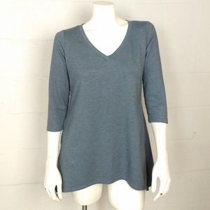 LOGO Lori Goldstein Tunic Top